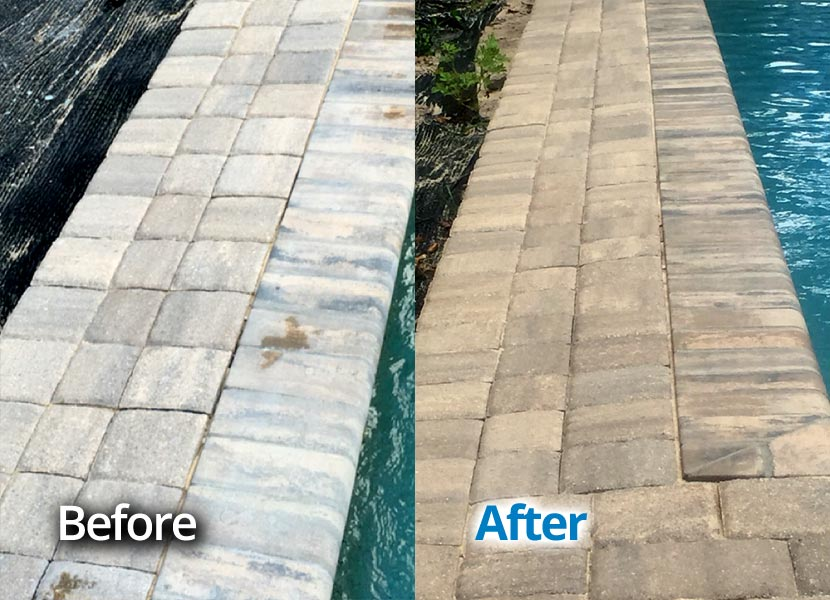 Brick Pavers Restoration Seminole County Central Florida