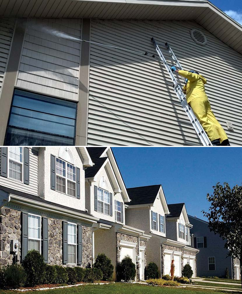 Multi-Unit Pressure Washing Seminole County Central Florida