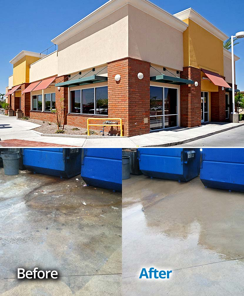 Lake S Edge Apartments Sanford Florida: Commercial Pressure Washing